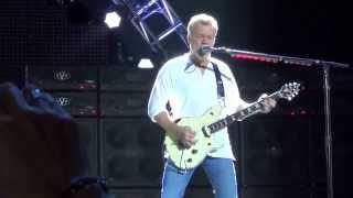 Van Halen: Drop Dead Legs- live in San Bernadino, Ca. July 11, 2015. 3rd row pit, HD.