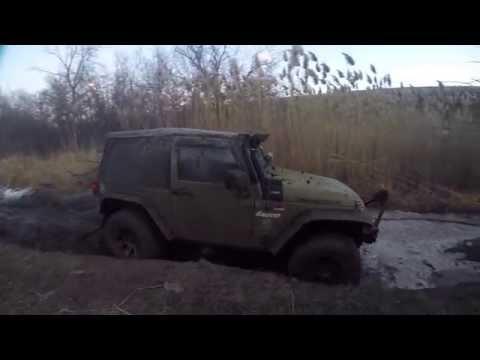 Jeep Jk offroad 1080p Daydream from Brampton to Raglanpits