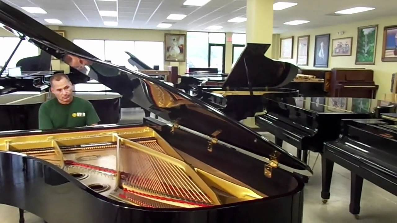 yamaha c7 grand piano for sale youtube. Black Bedroom Furniture Sets. Home Design Ideas