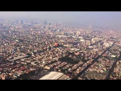 HD1080 Landing in Mexico City, Mexico