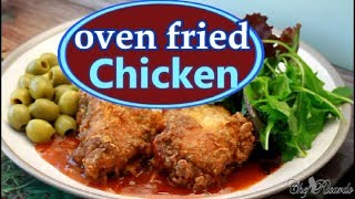 Oven Fried Chicken Recipe 2017 | Recipes By Chef Ricardo