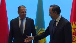 СМИД ОДКБ в Алма-Ате, церемония приветствия