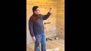 потолочные деревянные плинтуса как сделать угол