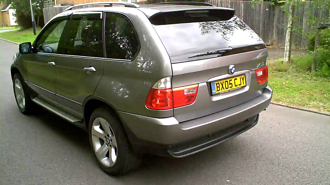 2005 bmw x5 3 0 diesel sport youtube. Black Bedroom Furniture Sets. Home Design Ideas