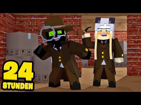 24 STUNDEN als DETEKTIVE ARBEITEN?! - Minecraft [Deutsch/HD]