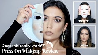 Press On Makeup Face Mask | Does it work?