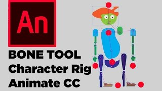 Bone Tool Animate CC Character Rigging Tutorial