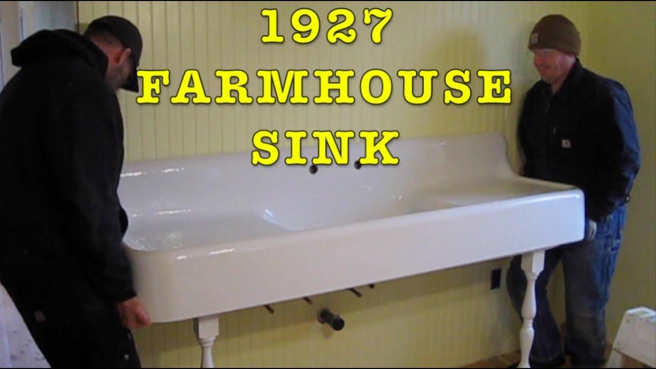 building farmhouse 19 1927 cast iron farmhouse apron sink