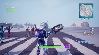 Ogs in Fortnite Galaxy Skin