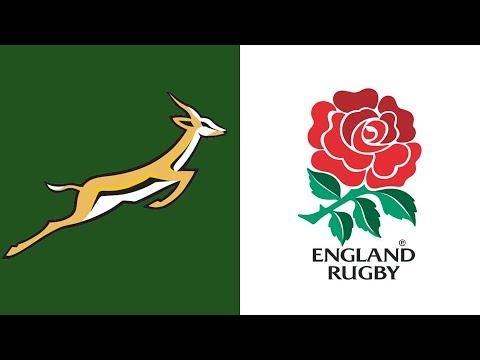 Rugby Test Match - England vs Springboks 14 November 1992