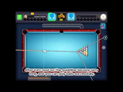 8 ball pool guideline hack android