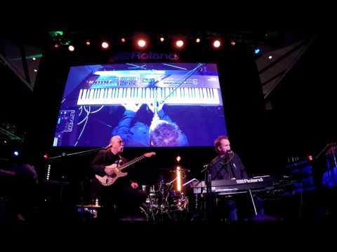 Jeff Skunk Baxter & CJ Vanston @ Roland NAMM 2017 (Smooth Jazz Family)