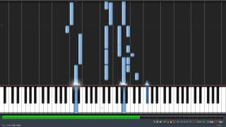 I wanna go to a place (Synthesia piano cover)- Gundam Seed Destiny (by Rie Fu)