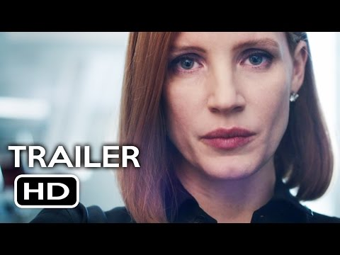 Miss Sloane Official Trailer #1 (2016) Jessica Chastain Drama Movie HD