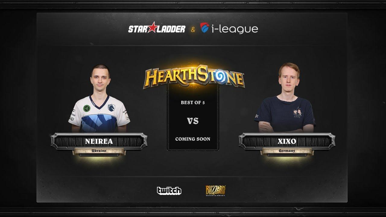 [EN] Neirea vs Xixo | SL i-League Hearthstone StarSeries Season 3 (23.05.2017)