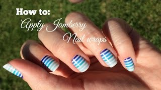 How to: Apply Jamberry nail wraps Thumbnail