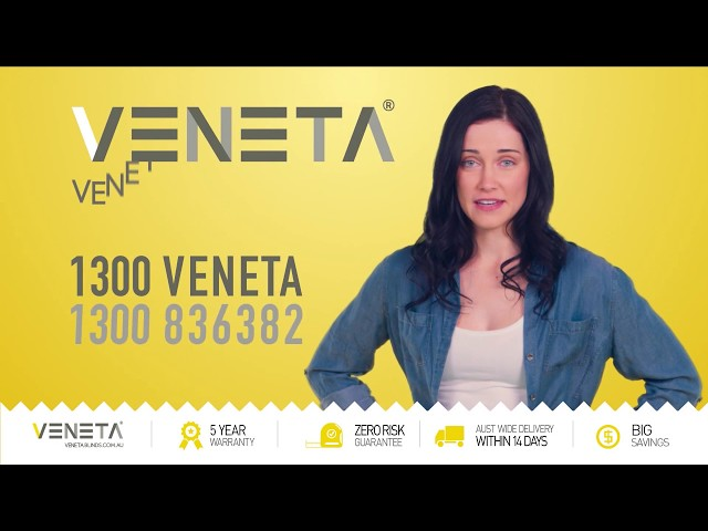 Veneta Blinds commercial