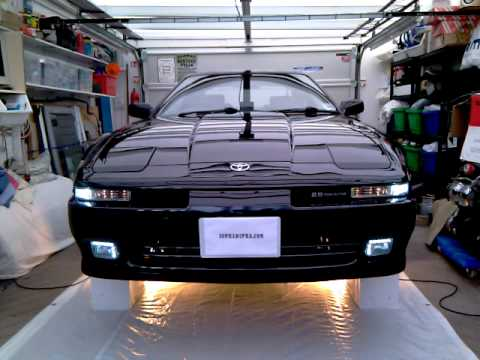 Custom Front Bumpers >> Supra Auto Lights & DRL.mp4 - YouTube