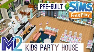 sims freeplay template party