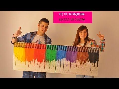 Cuadro de crayolas derretidas doovi for Cuarto de xime ponch