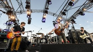 Kings of Leon at Goat Island, Sydney, Australia (November 19, 2013)...