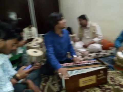 Sandeep jadiya playing Tabla with nice ghazal singer Dushyant rupolia