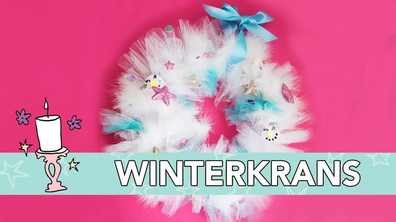 Winterkrans Diy Jill Youtube
