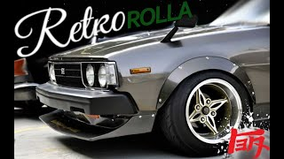 Toyota Corolla KE70 RETRO ROLLA JDM.