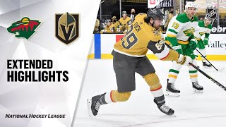 Minnesota Wild vs Vegas Golden Knights | Mar.03, 2021 | Game Highlights | NHL 2021 | Обзор матча