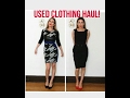 Used clothing haul!! Designer's for under $20! Fashion over 40!