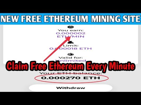 Etherrush.app – New Free Ethereum Miníng Site | Claim Free Ethereum Every Minute