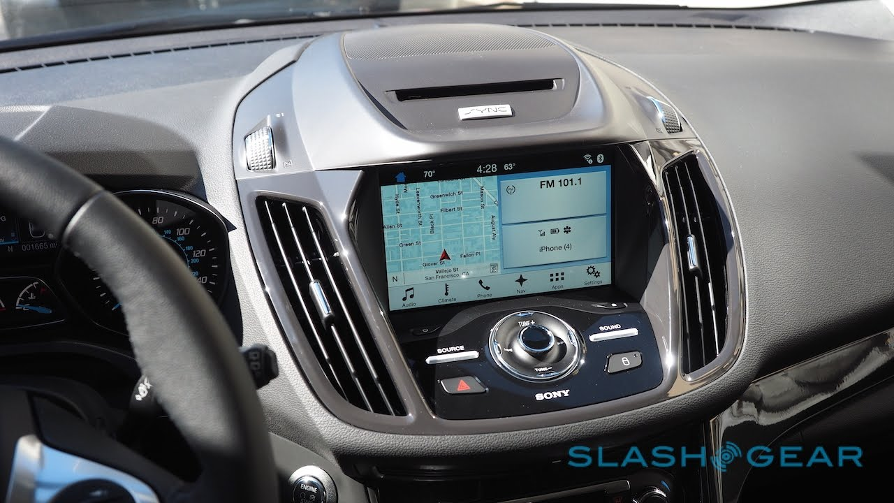 Ford Sync 3 Walkthrough On The 2016 Escape
