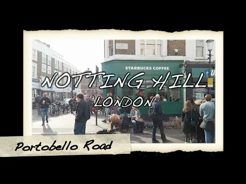 Portobello Road Market London Ottolenghi + Electric Cinema Notting Hill