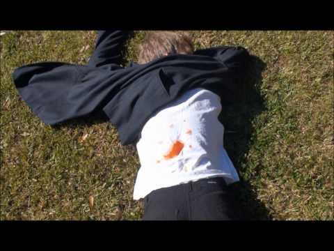Martin Luther King Assassination Reenactment