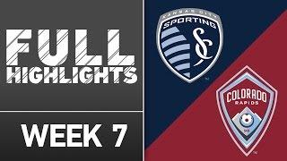 HIGHLIGHTS: Sporting KC vs. Colorado Rapids   April 13, 2016