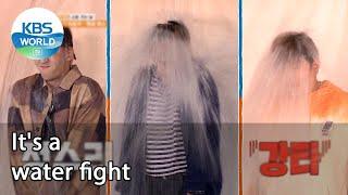 It's a water fight (2 Days & 1 Night Season 4 Ep.95-3)   KBS WORLD TV 211017