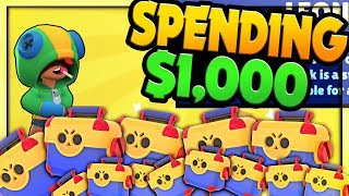 $1000 in GEMS goes HOW FAR in Brawl Stars? Brawl Stars GLOBAL Release!
