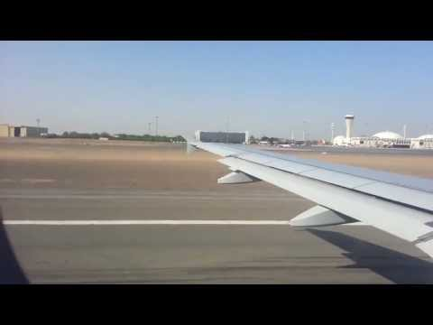 Air Arabia takeoff from Sharjah International Airport HD