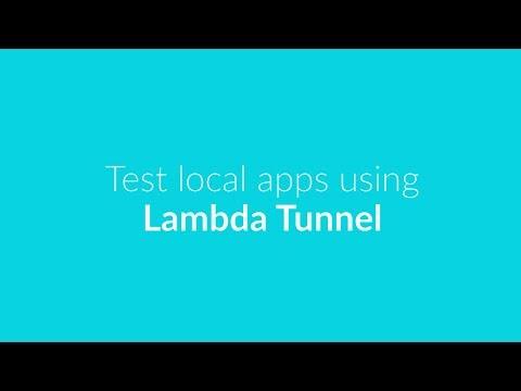 Test local apps using Lambda Tunnel - LambdaTest