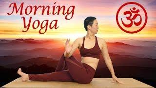 Morning Yoga Workout to Energize & Uplift-- Feel Amazing All Day! Flexibility, Leg & Core Strength
