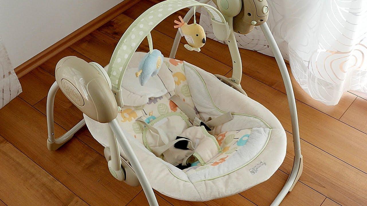 Bright Starts 7130 Elepaloo Babyschaukel // Babywippe // Swing ...