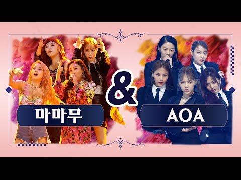 [퀸vs퀸] 마마무 vs AOA '너나 해' (Queen vs Queen MAMAMOO vs AOA 'Egotistic') @퀸덤(Queendom)