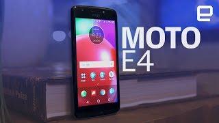 Moto E4 | Hands-On
