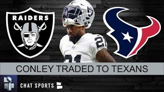 Breaking News: Raiders Trade CB Gareon Conley To Texans For 2020 3rd Round Pick