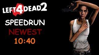 Left 4 Dead 2 Solo Realism Expert Speedrun 10:40 Blood Harvest
