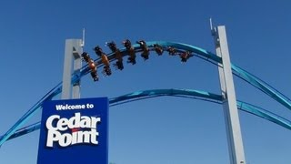 Gatekeeper Roller Coaster Front Seat Rider Cam POV Off-Ride Shots Cedar Point