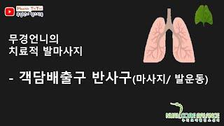 객담배출 반사구( 발과발목의 운동/ 장지신근/장무지신근…