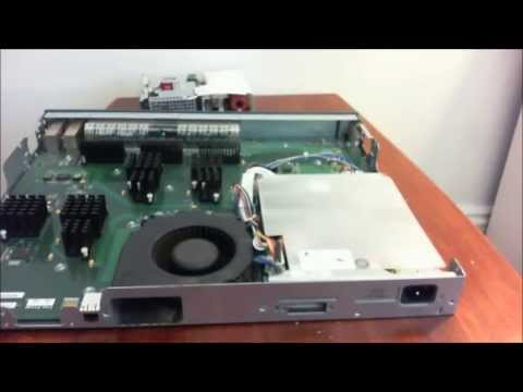 How to replace a faulty power supply on a Cisco 3560G switch