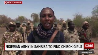 Exclusive: Nigerian forces hunt down Boko Haram as they search for missing Chibok Girls
