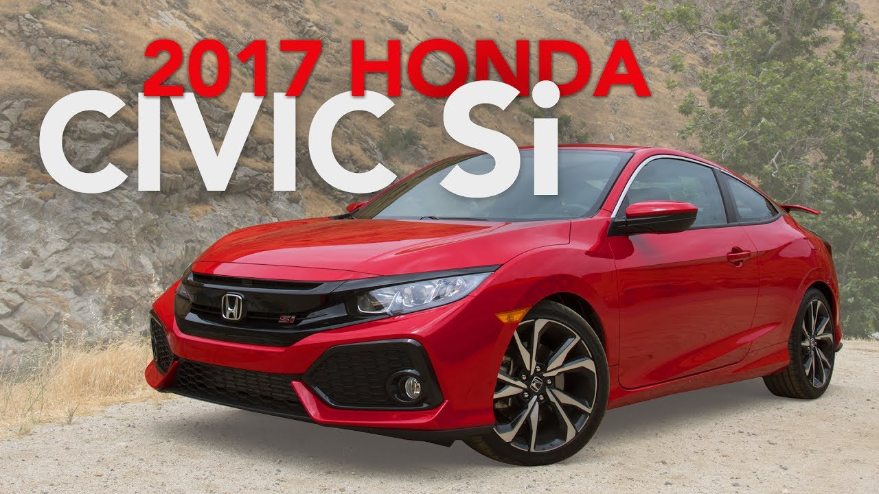 2017 honda civic si review first drive youtube. Black Bedroom Furniture Sets. Home Design Ideas